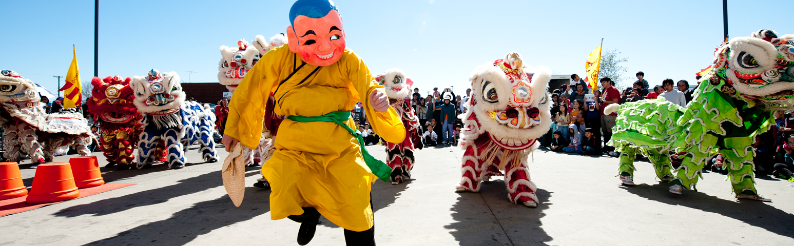 LION & DRAGON DANCE