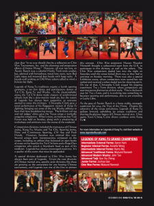 Legends of Kung Fu 2014